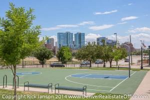 Views of Denver from Lower Highlands Denver CO